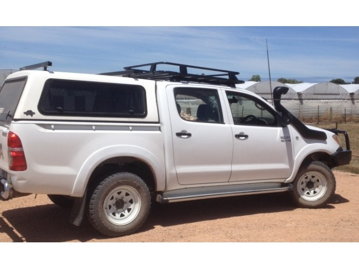 roof rack suits toyota hilux and all mid size 4wd suv. Black Bedroom Furniture Sets. Home Design Ideas