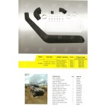 Snorkel - Toyota Landcruiser 80 Series 1990-98 Petrol and Diesel